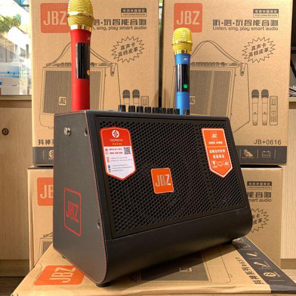 jbz 0616 - loa xách tay mini âm thanh siêu khủng