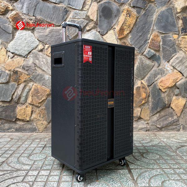 loa kéo di động karaoke koda kd1519, 3 đường tiếng công xuất 680w