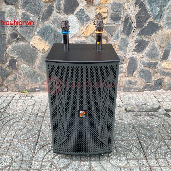 loa kéo karaoke prosing w15 vn, bass 4 tấc mới 2021