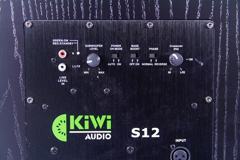 kiwi s12 - loa siêu trầm công suất khủng lên đến 400w