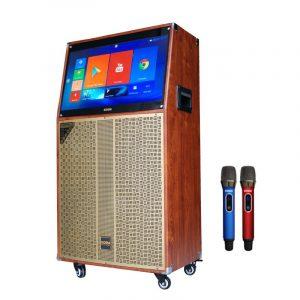 loa kéo có màn hình cảm ứng koda kd10c - loa karaoke bass 25