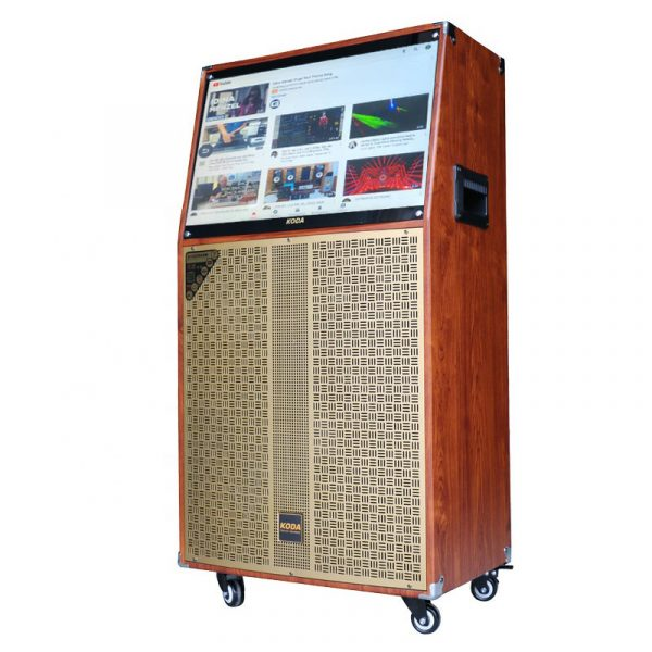 loa karaoke koda kd10c - loa kéo có màn hình cảm ứng, bass 25