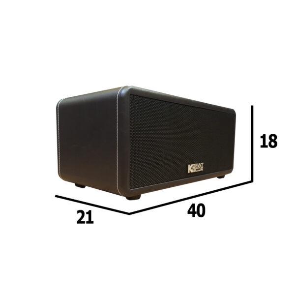 loa karaoke xach tay acnos ks360ms kích thước