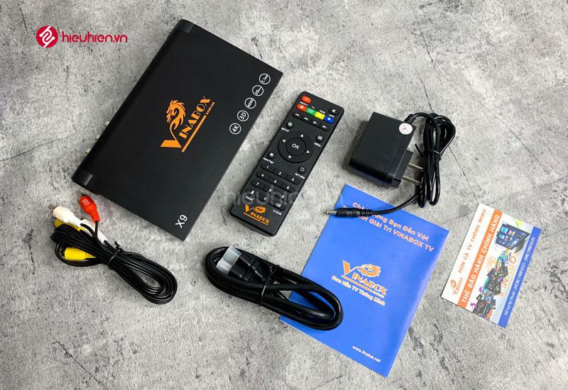 Trọn bộ sản phẩm VinaBox X9