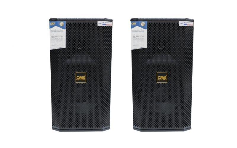 loa karaoke full cavs k250 bass 25cm mat truoc logo cavs