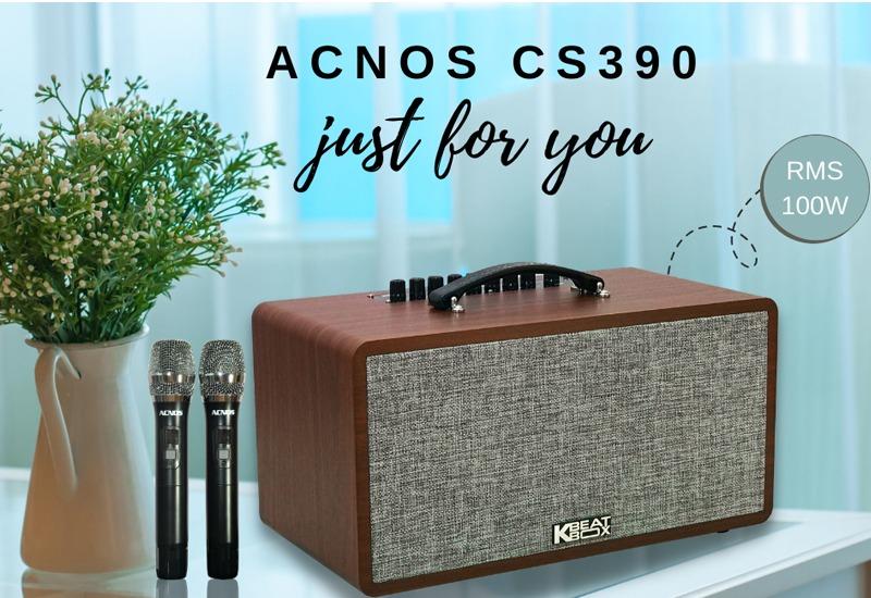 loa karaoke xach tay acnos cs390 - hinh 01