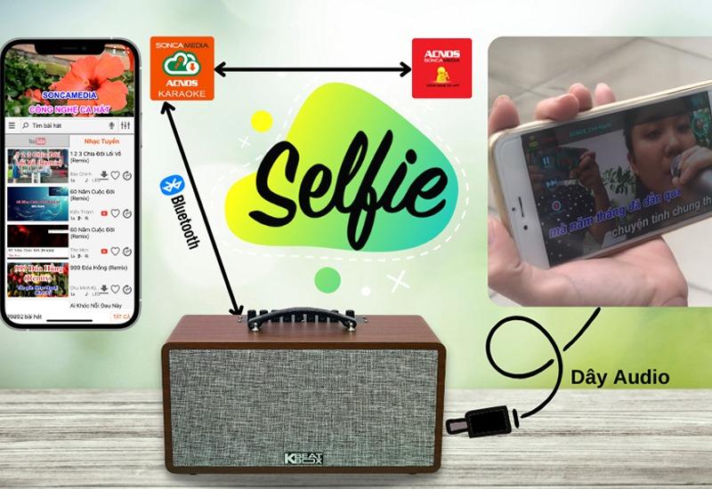 loa karaoke xach tay acnos cs390 - hinh 03