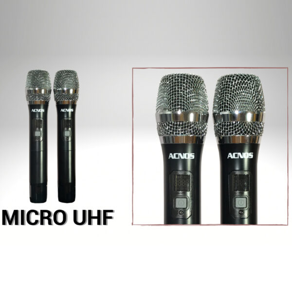 loa karaoke xach tay acnos cs390 - micro