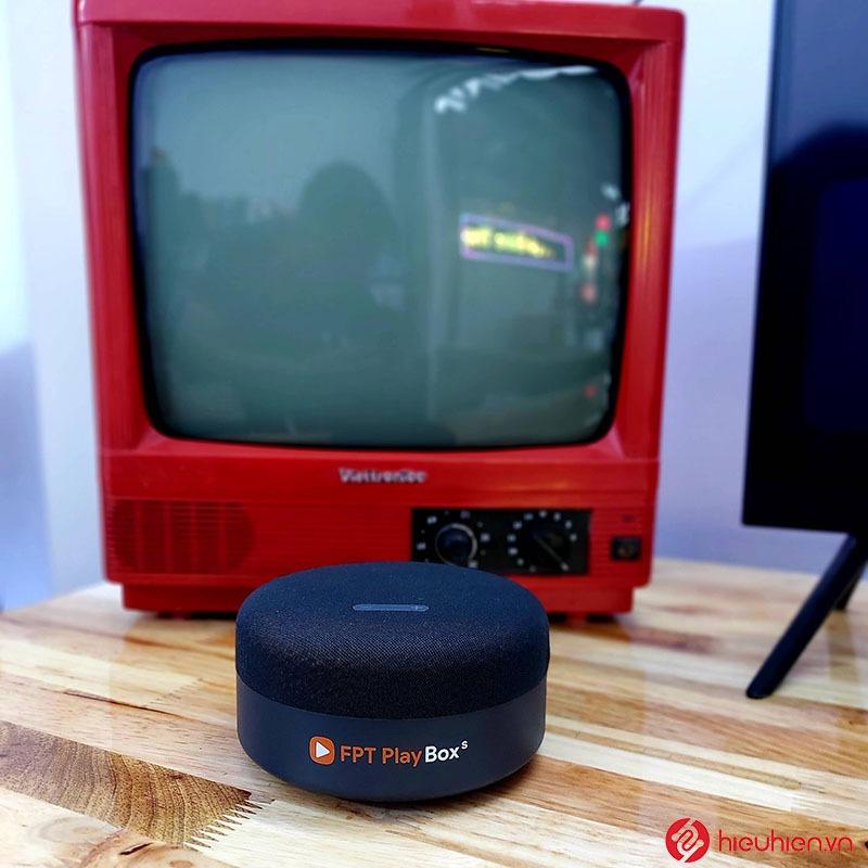 android tv box loa thông minh fpt play box s