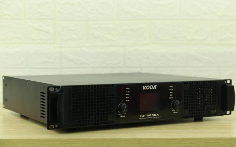 cục đây công suất koda kp-2650a cạnh bên