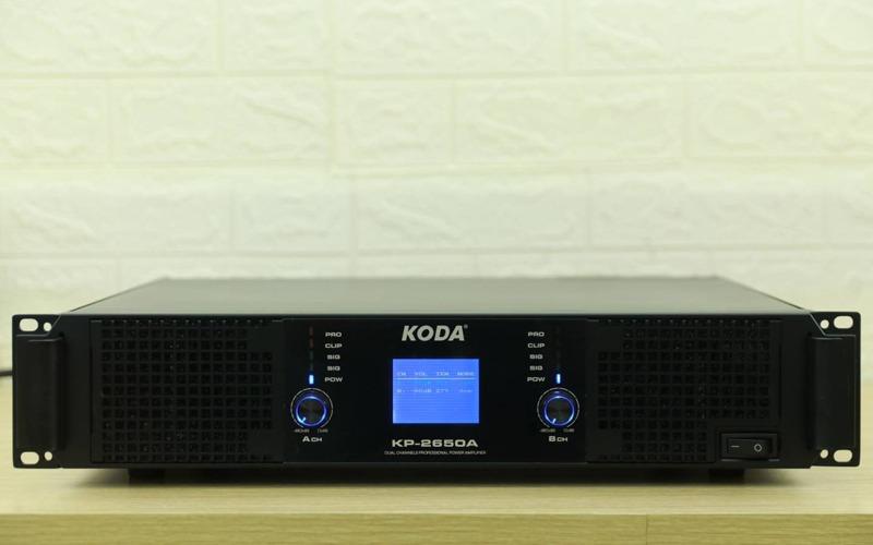 cục đây công suất koda kp-2650a mặt trước đèn led