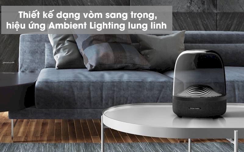 loa bluetooth harman kardom aura studio 3 thiết kế