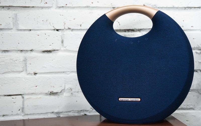 loa bluetooth harman kardon onyx studio 5 thiết kế tròn