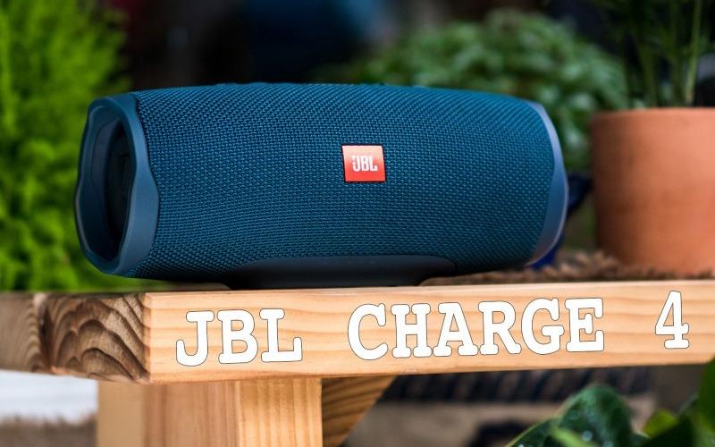 loa bluetooth jbl charge 4 màu xanh thiết kế đẹp