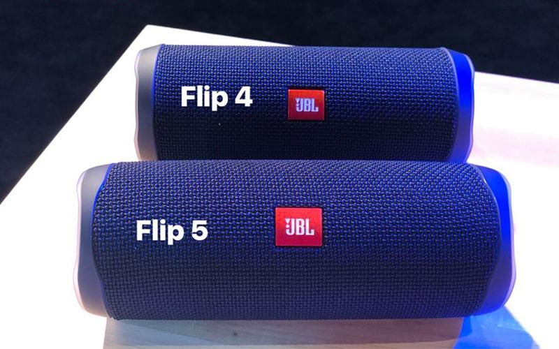 loa bluetooth jbl flip 5 cong suat 20w kích thước lớn