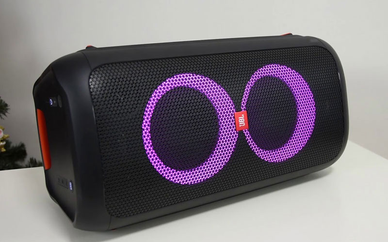 loa bluetooth jbl partybox 100 đèn led rgb hình 02