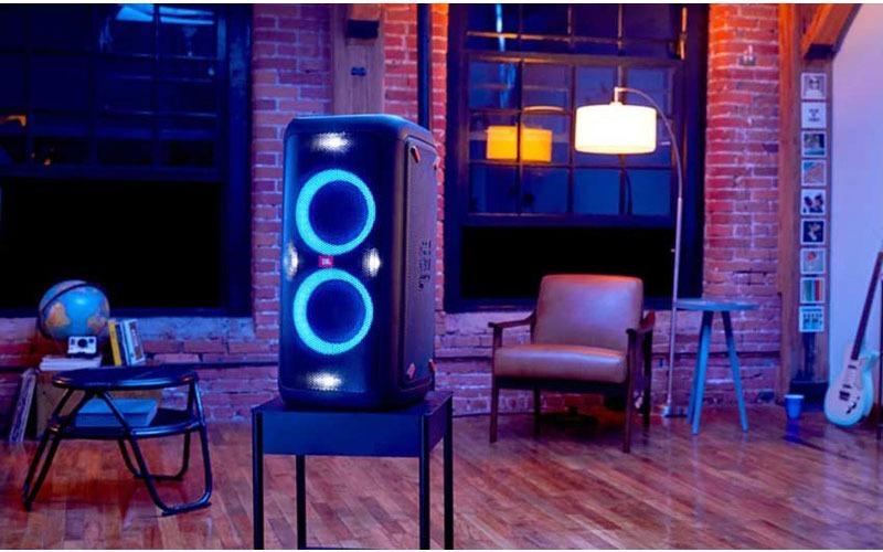 loa bluetooth jbl partybox 100 đèn led rgb hình 06