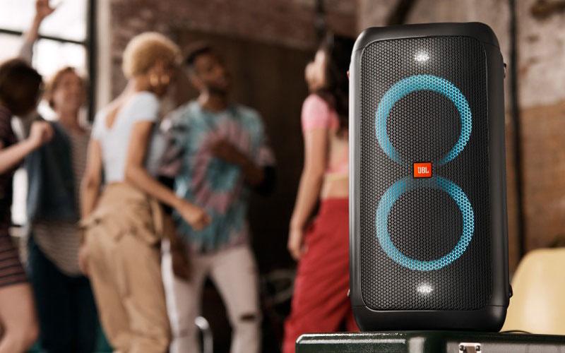 loa bluetooth jbl partybox 100 đèn led rgb hình 07