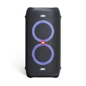 loa bluetooth jbl partybox 100 đèn led rgb hình 0 màu xanh lam