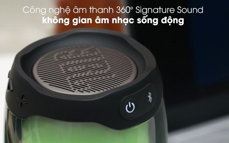 loa bluetooth jbl pulse 4 đèn led âm thanh 360 độ