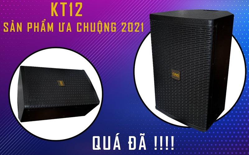 loa karaoke full cavs kt12 âm thanh sống động