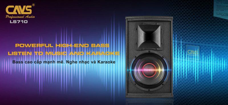 loa karaoke full cavs xb10 hình 8