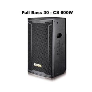 loa karaoke full koda kd12 với bass 30 cùng công suất 600w mạnh mẽ