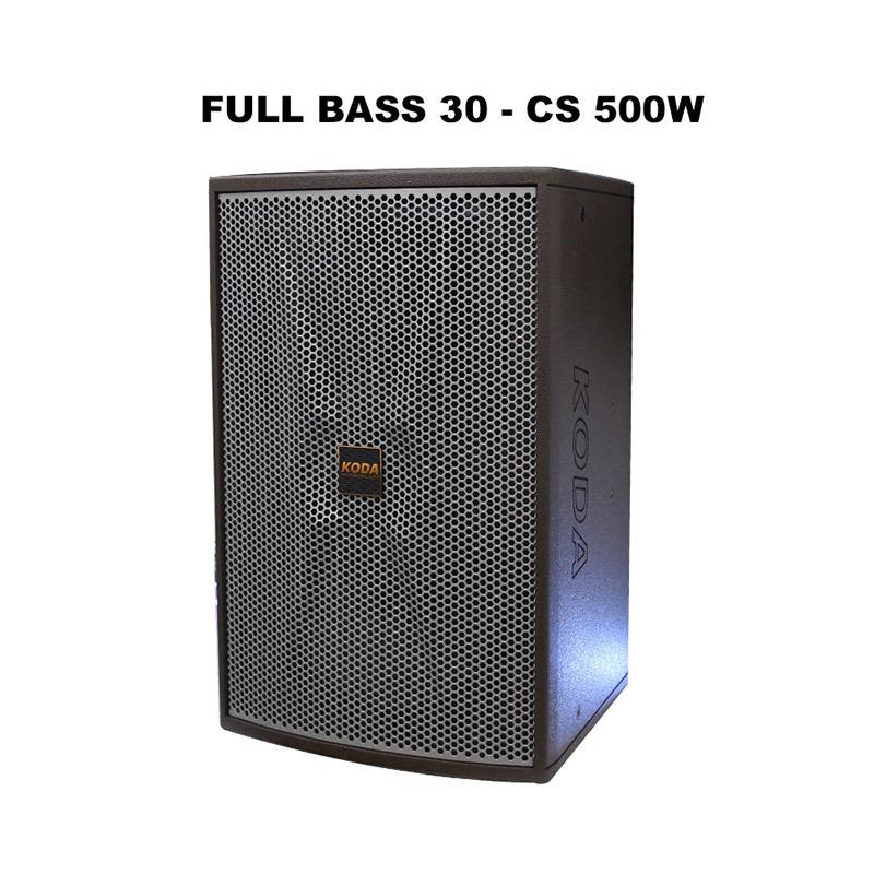 loa full koda kt121 bass 30, cs 500w cực khoẻ