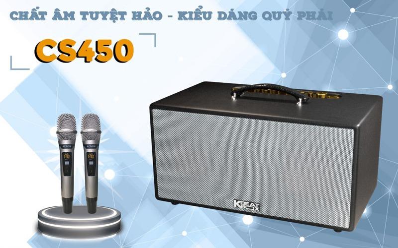 loa karaoke xach tay acnos cs450 kèm 2 micro