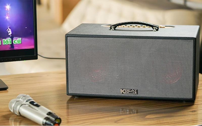 loa karaoke xach tay acnos cs450 micro nhẹ