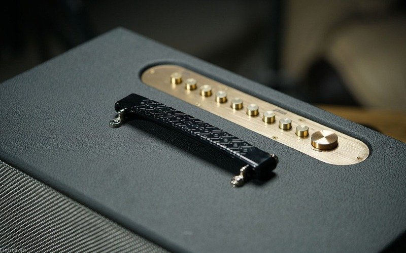 loa karaoke xach tay acnos cs450 nút điều chỉnh