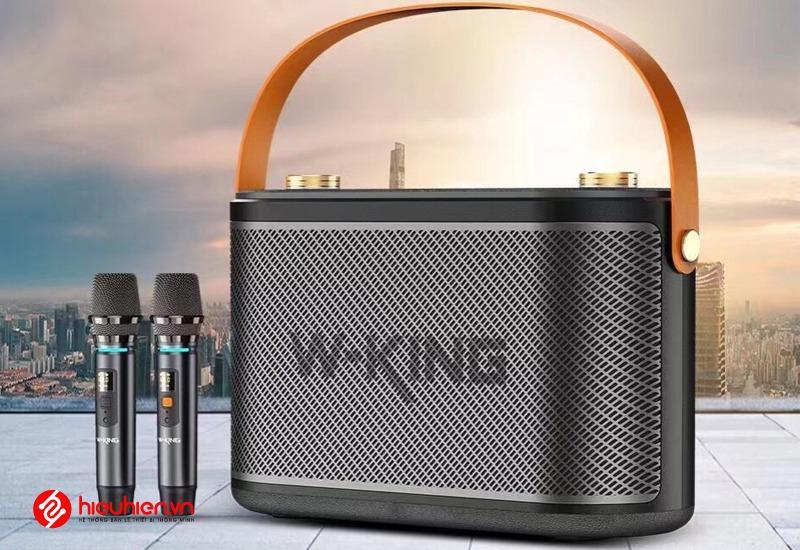 loa karaoke xach tay w-king t10 cong suat 120w mat truoc