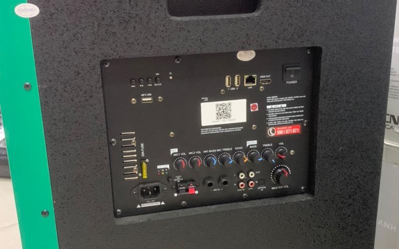loa keo karaoke acnos kbnet41 công suất 150w rms hình 3
