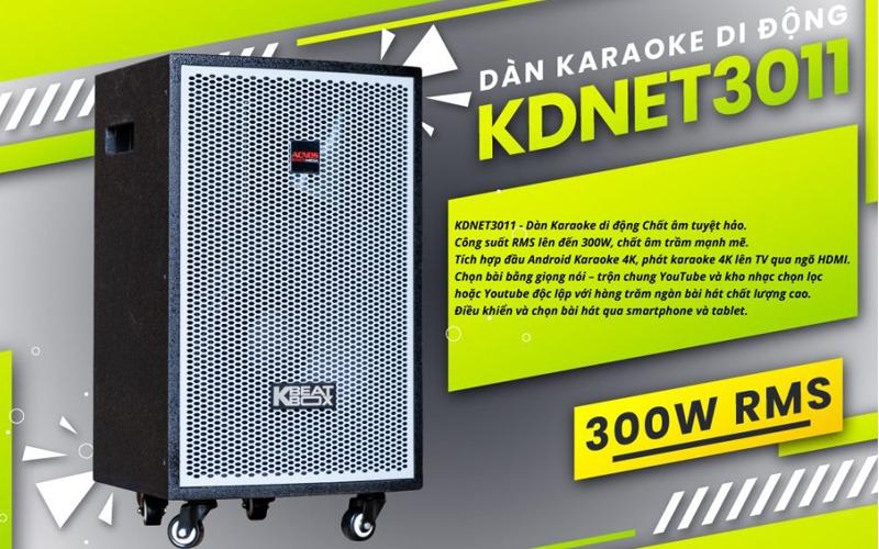 loa kéo karaoke di động acnos kdnet3011 công suất lớn