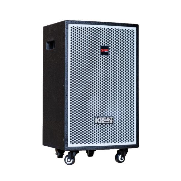 loa kéo karaoke di động acnos kdnet3011 mặt bên