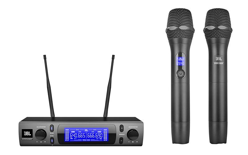 micro karaoke không dây jbl vm300 hinh 1
