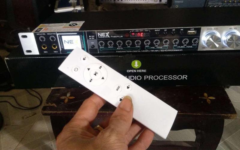 vang cơ nex fx20 plus điều khiển bằng remote
