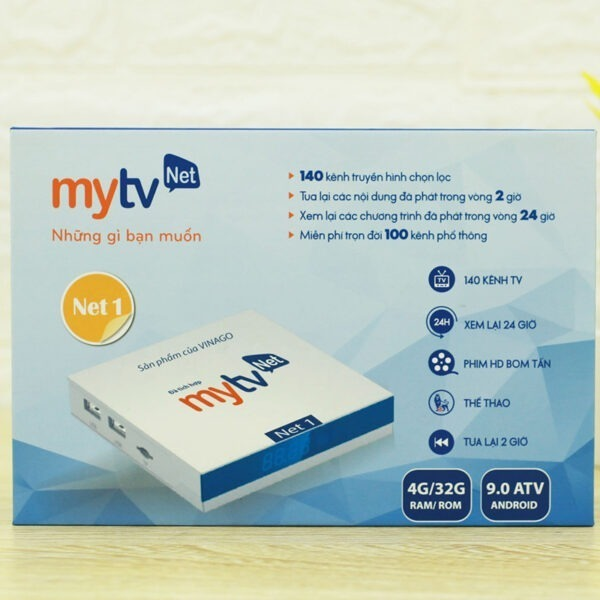 android tv box mytvnet 4gb/64gb android tv 9 hình 3