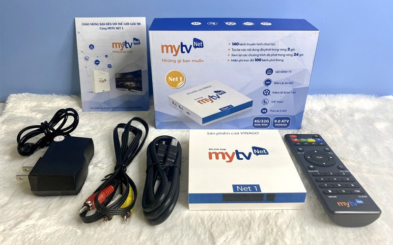 android tv box mytvnet 4gb/64gb android tv 9 hình 5