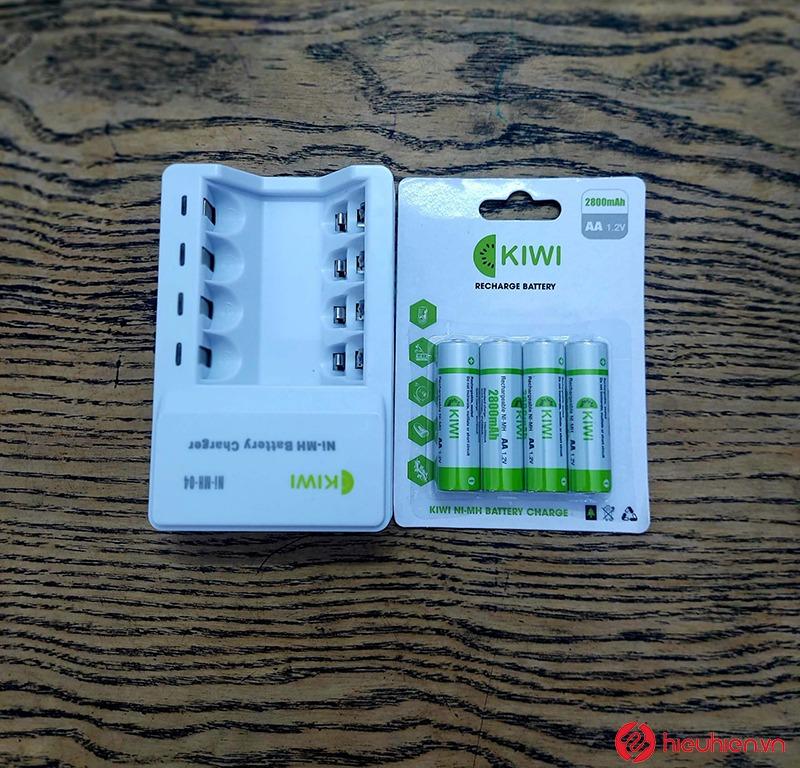 bộ sạc pin kiwi ni-mh-04