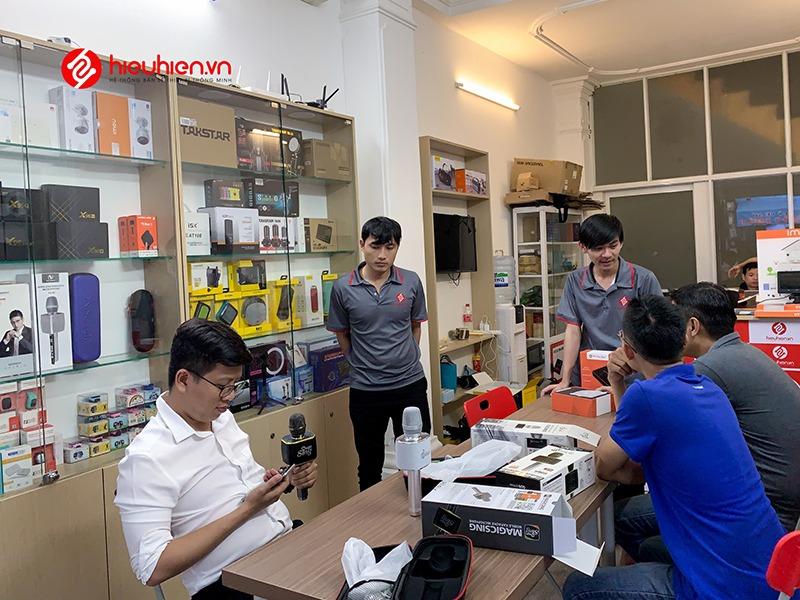 khuyến mãi quốc tế thiếu nhi 1-6 khách mua micro bluetooth