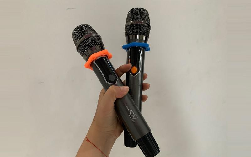 loa karaoke xách tay prosing w8-alisa micro không dây