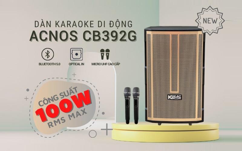 loa kéo karaoke di động acnos cb392g hình 10