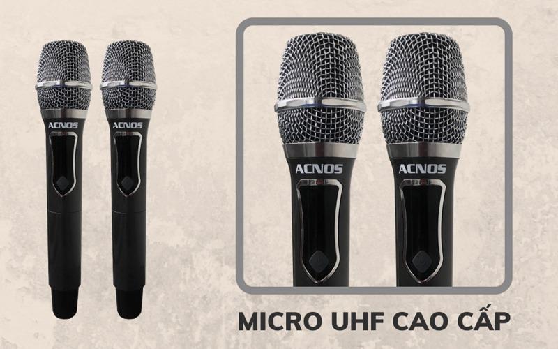 loa kéo karaoke di động acnos cb392g hình 9
