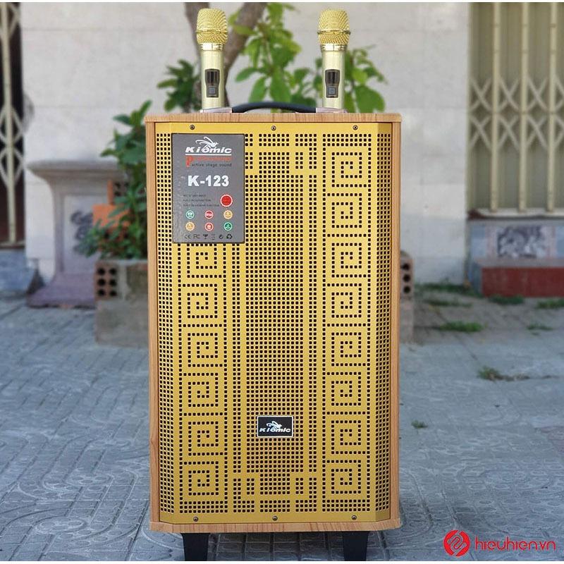 loa kéo karaoke kiomic k123