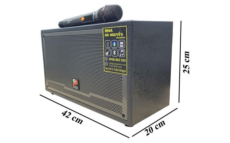 loa karaoke xách tay prosing w-silver-e kiểu dáng tiện lợi