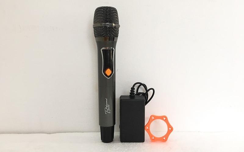 loa karaoke xách tay prosing w-silver-e kèm 1 micro