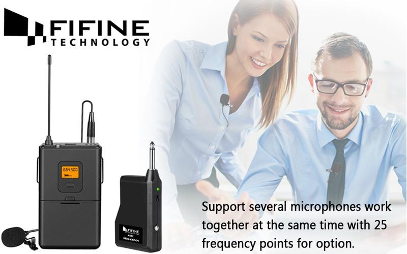micro cài áo không dây fifine k037 hình 3