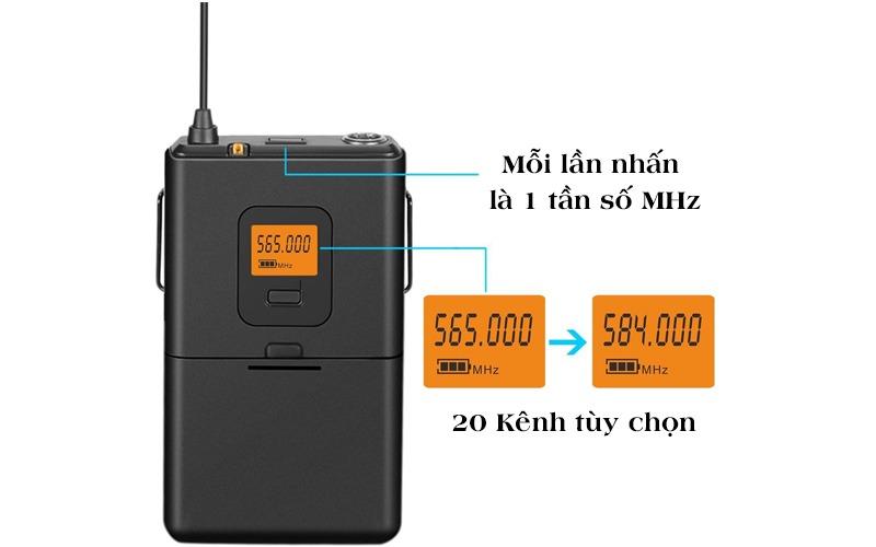 micro cài áo không dây fifine k037 hình 4
