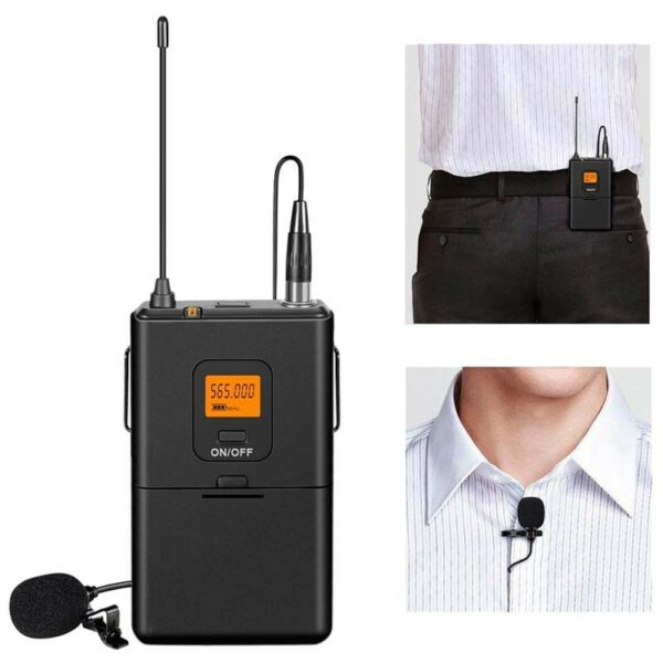 micro cài áo không dây fifine k037 mic kẹp cổ áo